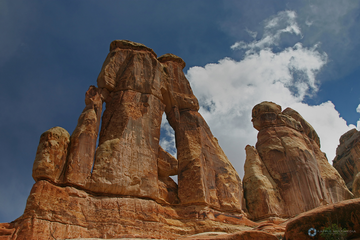 Druid Arch, Needles District of the Canyonlands National Park, Utah, USA