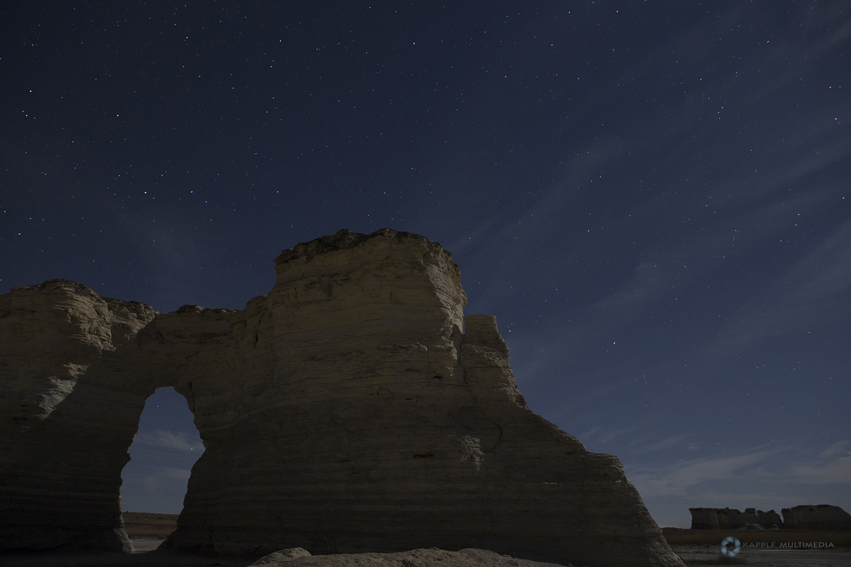 Chalk pyramids Kansas