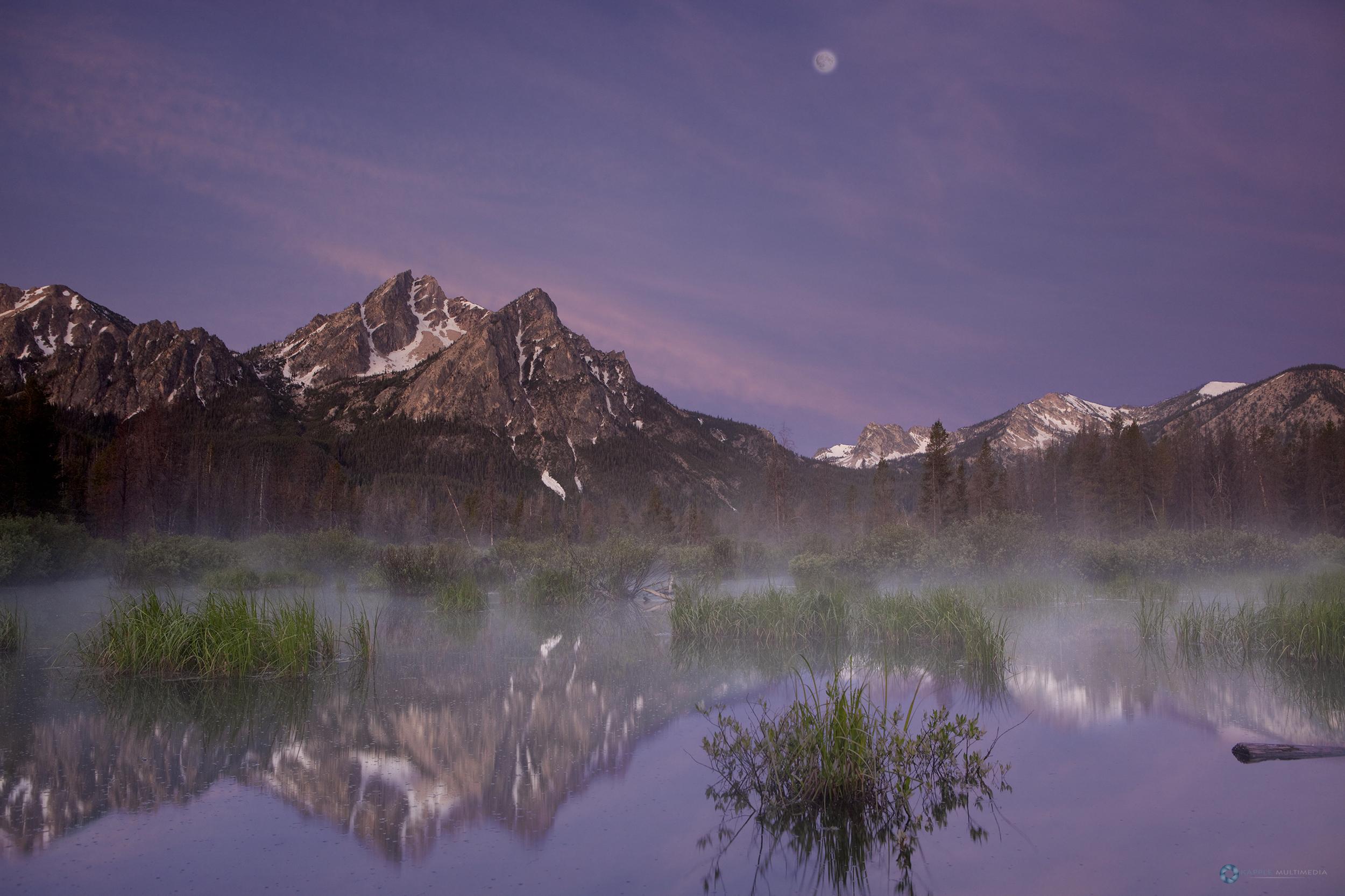 Stanley Lake, Sawtooth Mountains, Salmon-Challis National Forest, Idaho