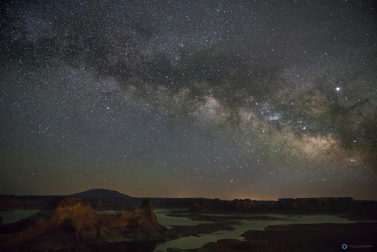 Alstrom Point and Milky Way