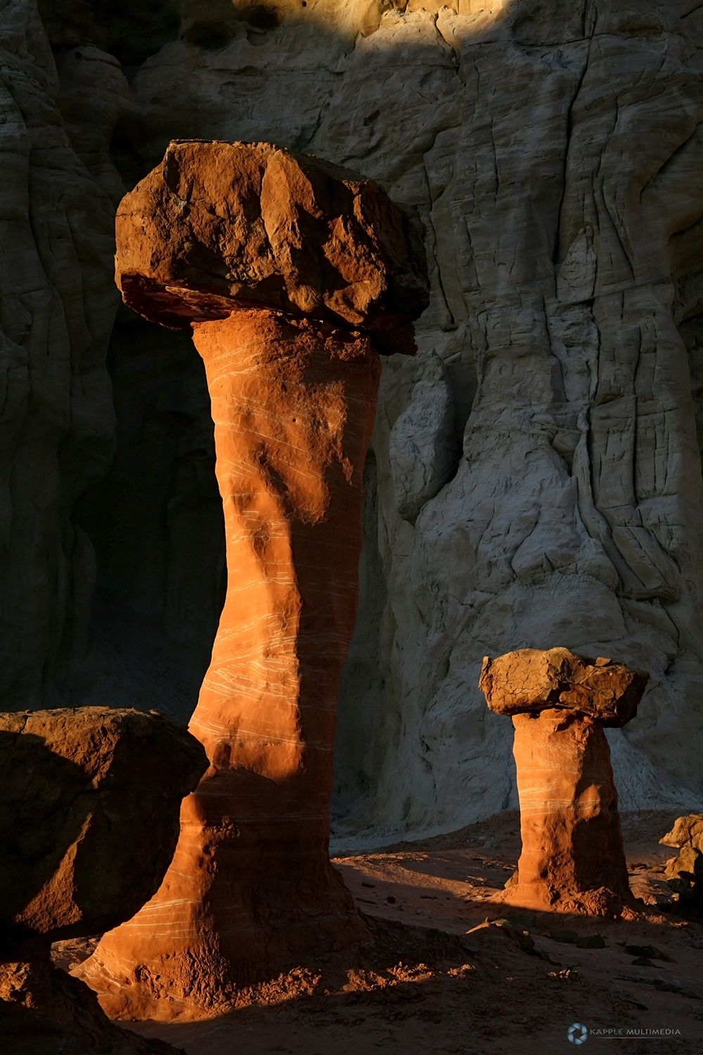 Rock Hoodoo Pillars