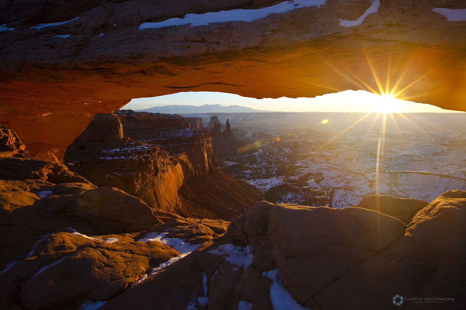 Sunrise at Mesa Arch, Canyonlands National Park