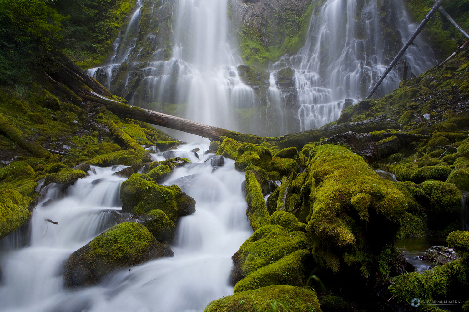Proxy Falls, Oregon Cascade Range, Oregon