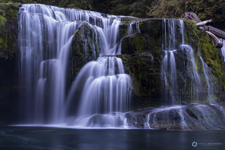 Lower Lewis River Falls