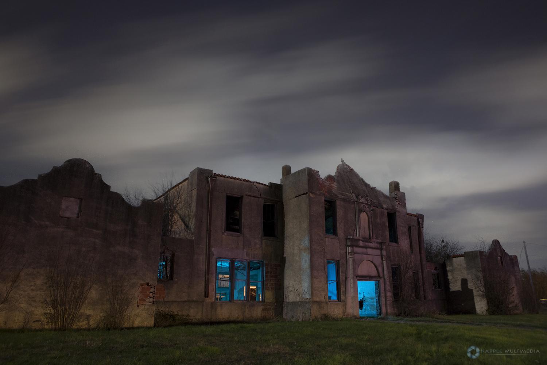 Abandoned School, Mosheim Texas