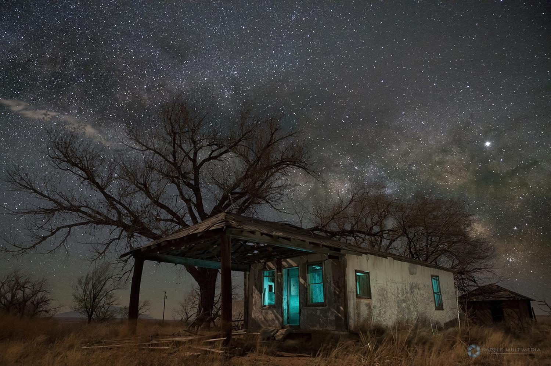 Gas Station, Glenrio Texas