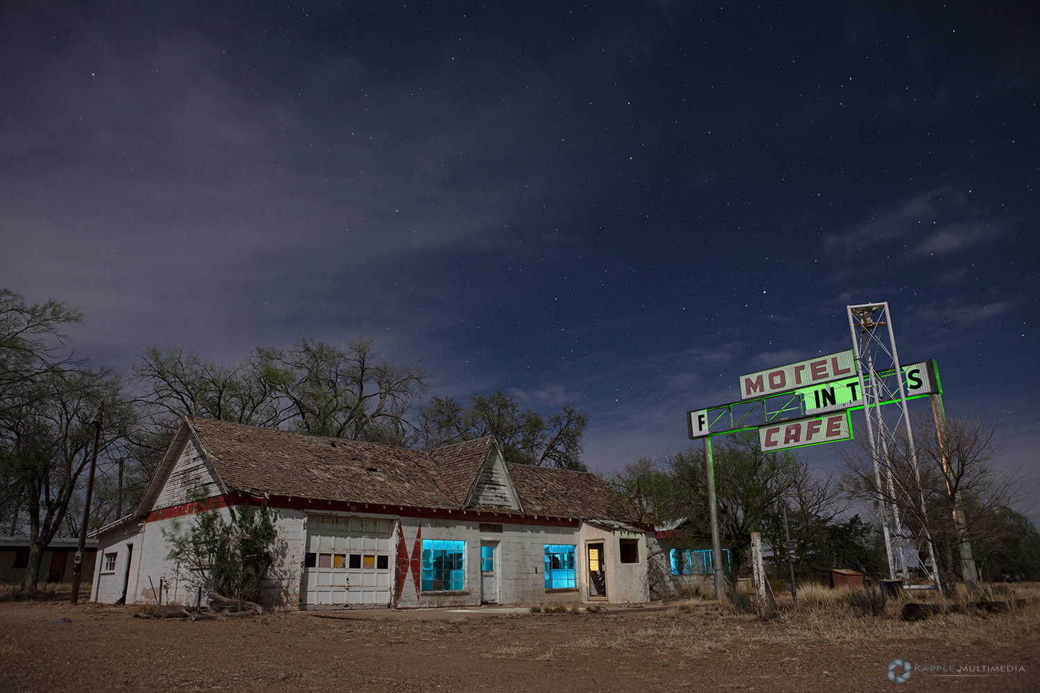 Glenrio Diner, Route 66, West Texas