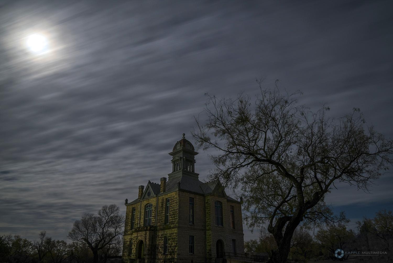 Abandoned Sherwood Courthouse